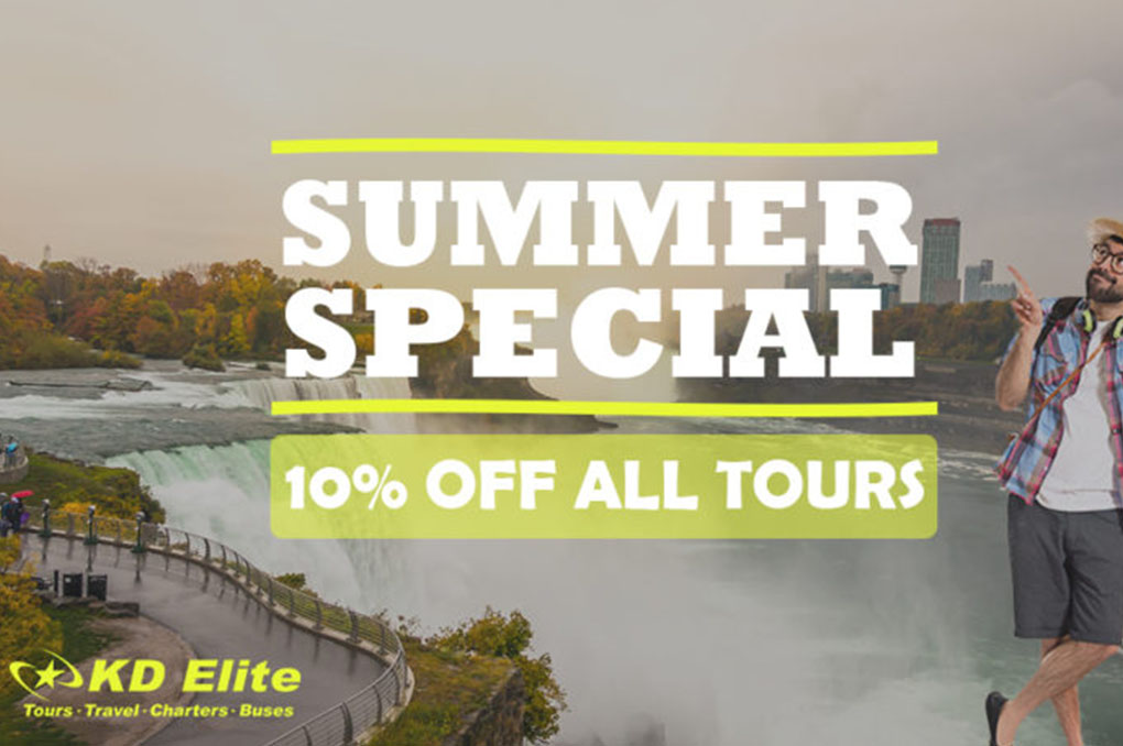 10% Discount on all TOUR PACKAGES by KD Elite