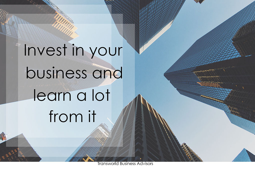 Read more about the article Invest in your business and learn a lot from it