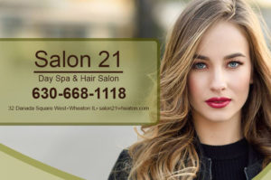 Read more about the article Salon 21 Day Spa & Hair Salon