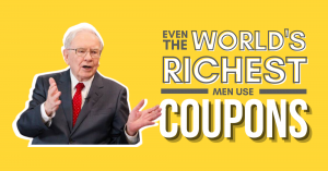 Read more about the article Even the world's richest men use coupons